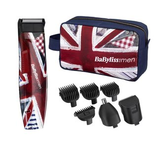 Триммер для бороды BABYLISS FOR MEN GROOM BRITANNIA TRIMMER KIT.